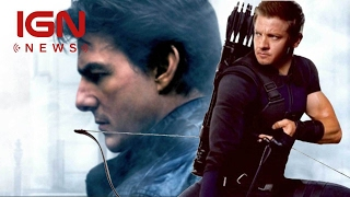 Jeremy Renner Trading Mission: Impossible 6 for Ant-Man and the Wasp - IGN News