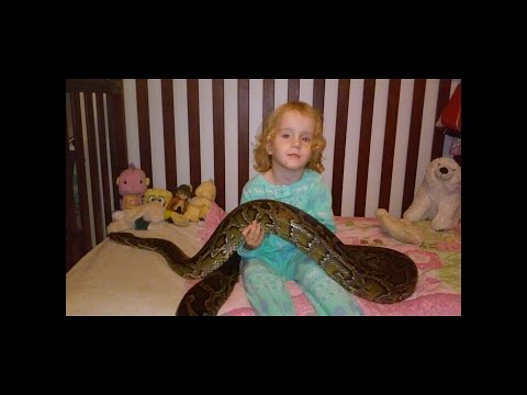 2 ½ YEAR OLD GIRL LOVES SNAKES! Mp3