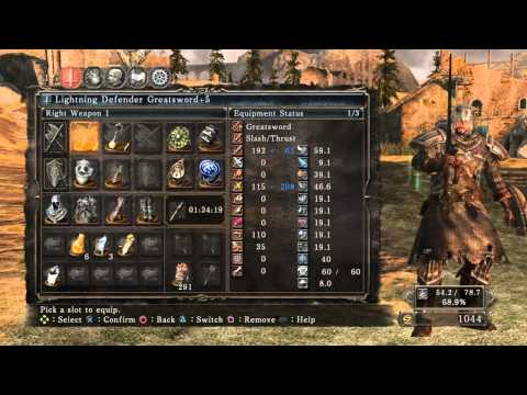 Dark Souls 2 PvP - Guard Break Your Faith Build - смотреть