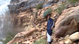 preview picture of video 'Waterfall in Wadi Rum'