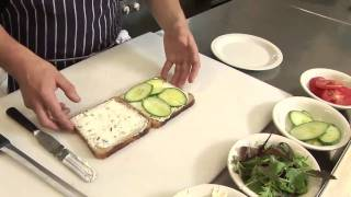 How To Make Finger Sandwiches