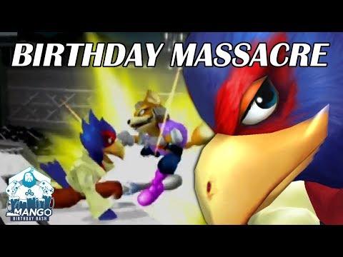 BIRTHDAY MASSACRE - Mang0 Falco & Fox Highlights [Mang0's Birthday Bash] - Super Smash Bros. Melee
