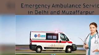 Take Optimum Medical Care by Medivic Ambulance Service in Delhi