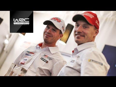 WRC 2018: Jari-Matti Latvala / Miikka Anttila