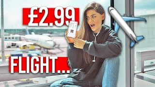 I Went on the CHEAPEST Flight in THE WORLD   £2.99 PLANE TICKET!