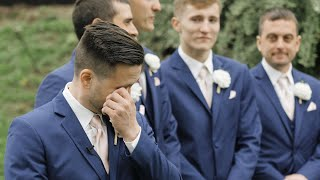 Grooms Cant Stop Crying Seeing Their Brides!