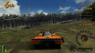 Gran Turismo 3 - Super Speedway Track Glitch PS2 Gameplay HD