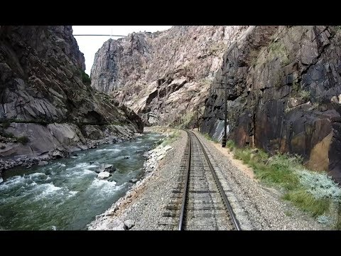 Royal Gorge Route Railroad – Driver's Eye View