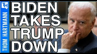 Biden Says America Is Less Safe Because Of Donald Trump!