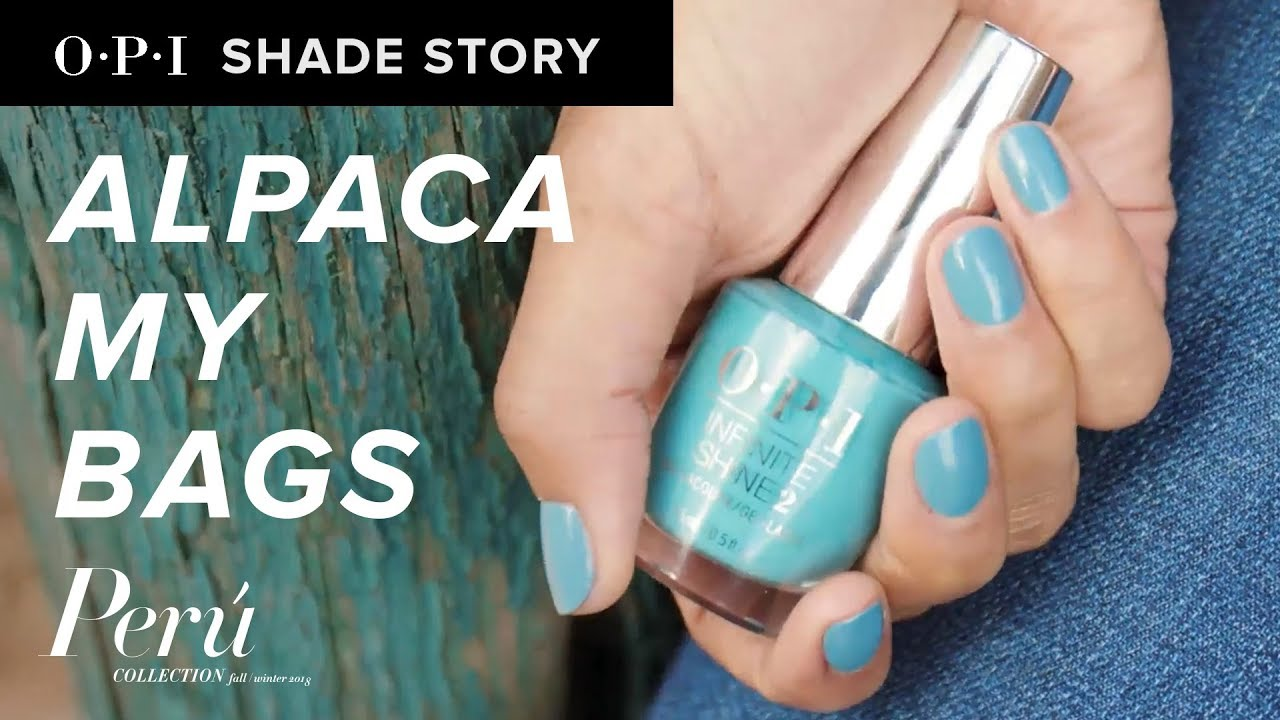 Video:Shade Story: Alpaca My Bags | OPI Peru