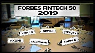 RIPPLE BREAKING NEWS: Forbes TOP Fintech Companies 2019