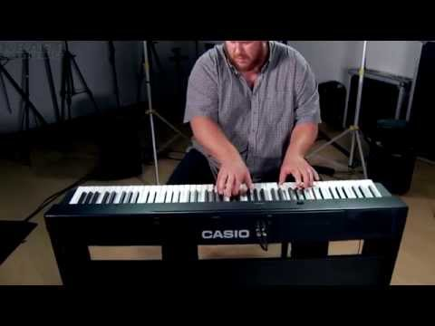 Kraft Music - Casio Privia PX-160 Digital Piano Demo with Adam Berzowski