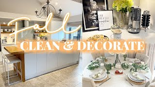 FALL CLEAN AND DECORATE WITH ME 2020! 🍂✨ || COSY MODERN FALL DECOR IDEAS