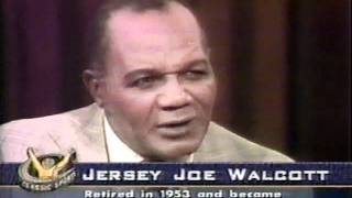 Joe Louis vs Jersey Joe Walcott, I & II