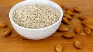How To Make Almond Flour (aka Almond Meal) - Clean&Delicious