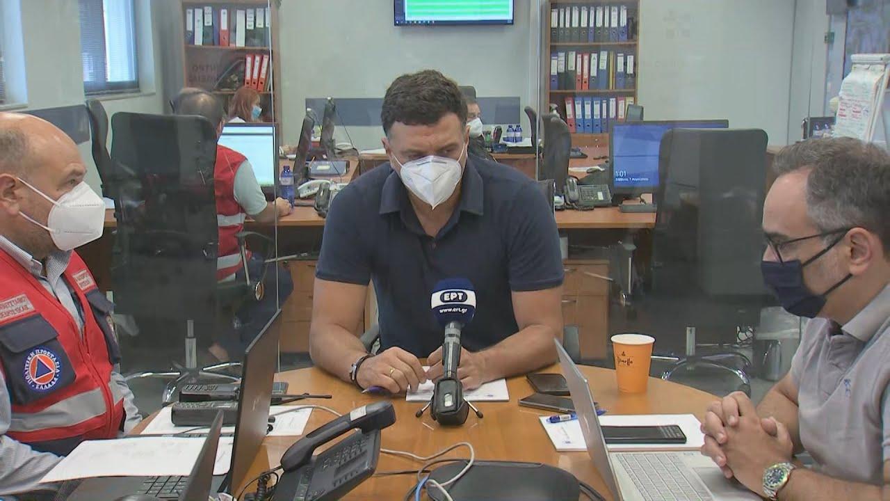 Στηρίζουμε με το μέγιστο των δυνάμεών μας την ελληνική κοινωνία που δοκιμάζεται από τις πυρκαγιές
