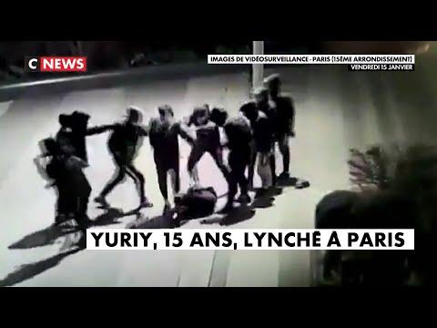 Paris : le jeune Yuriy commence Í se réveiller après son passage Í tabac Paris : le jeune Yuriy commence à se réveiller après son passage à tabac