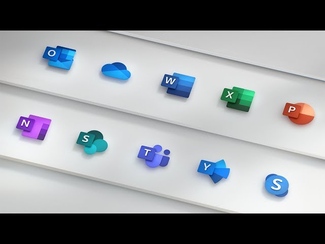 Microsoft made a video to show off its new Office icons