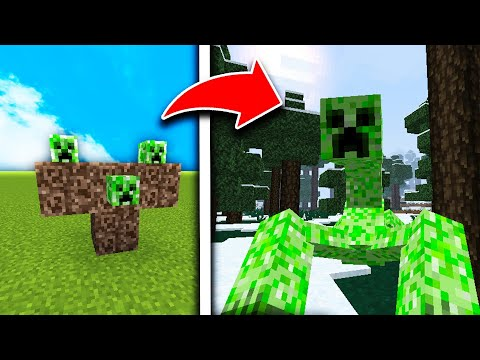 How To Spawn the Creeper Boss in Minecraft Pocket Edition