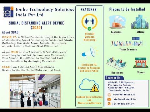 Social Distancing Alert Device