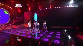Wonder Girls - 2 Different Tears @ SBS Inkigayo 인기가요 100613