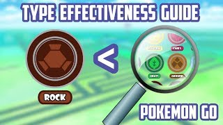 Type Effectiveness Guide For Pokemon Go!