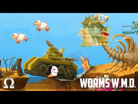 The *MOST* UNBELIEVABLE Round EVER! | Worms W.M.D. Funny Moments #12