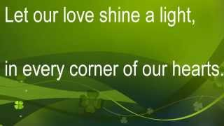 LEE MATTHEWS Love Shine A Light Lyric :)