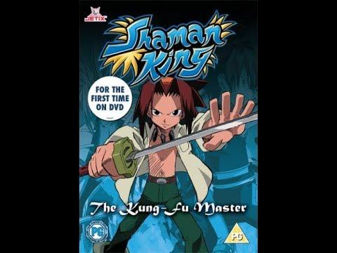 Original DVD Opening: Shaman King: The Kung-Fu Master (UK Retail DVD)