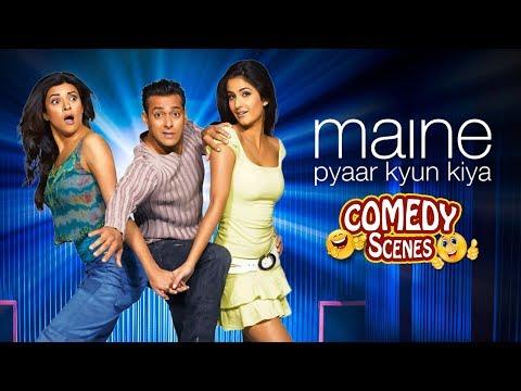 Best Comedy Compilation - Maine Pyaar Kyun Kiya - Salman Khan - Katrina - Hindi Comedy