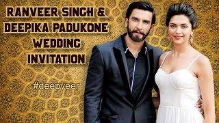 Ranveer Singh And Deepika Padukone Marriage Card 免费在线视频最佳