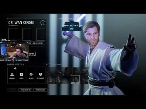 Shroud Tries Star Wars Battlefront 2