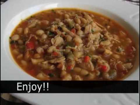 """Super Bowl Party Recipe: Chicken and White Bean Chili"