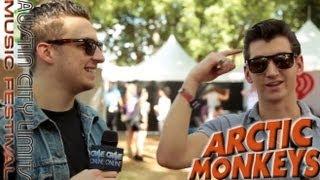 ARCTIC MONKEYS- Austin City Limits Music Festival 2013 Interview
