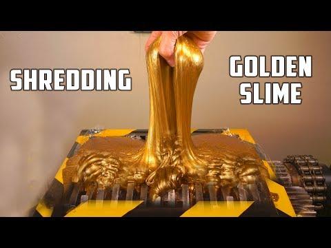 Slime Versus Shredder, Or The Battle Between Kitchen Science And Industrial Machine