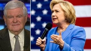 Gingrich: Hillary faces huge problems within her own party