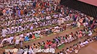 Valla Sadya: Lord Krishna's b'day feast