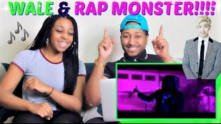 """Rap Monster Featuring Wale """"Change"""" REACTION!!!!"""