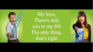 Glee   Endless Love (lyrics)