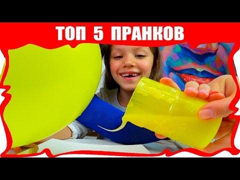 ТОП 5 Фокусов Чтобы Удивить Своих Друзей Чесночный Воздушный Шар и Мыльные Пузыри /// Вики Шоу