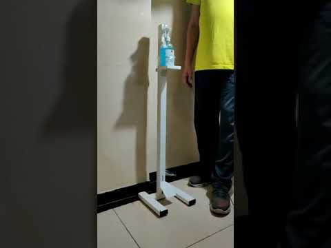 Pedal Operated Sanitizer Stand