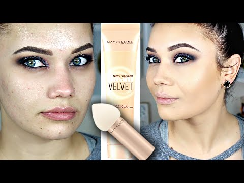 MAYBELLINE Dream Velvet Foundation + Blender Review