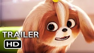 THE SECRET LIFE OF PETS 2 Official Teaser Trailer 4 (2019) Animated Movie HD