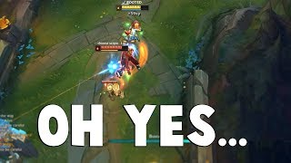 THE PERFECT RESET!!! - Watch Tristana Get A Perfect Reset Timing...  | Funny LoL Series #493