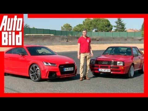 Audi TT RS vs. Audi Sport quattro (2016)