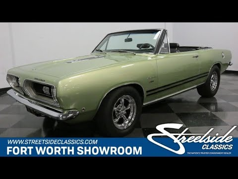 Video of '68 Barracuda - QS1D