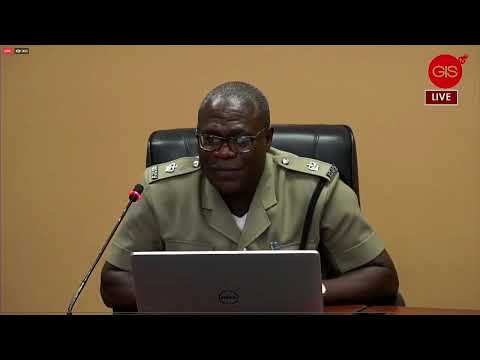 ROYAL GRENADA POLICE FORCE'S MEDIA CONFERENCE