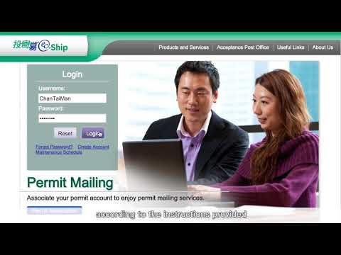 "How to prepare posting forms via ""EC Ship""online platform provided by Hongkong Post"