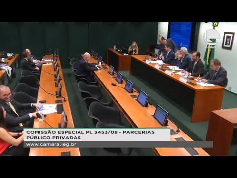 PL 3453/08 - Parcerias Público Privadas - Concessões e Fundos de Investimento - 15/10/2019 - 14:53