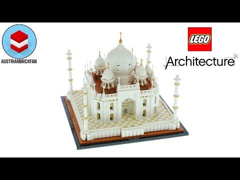 Vidéo LEGO Architecture 21056 : Taj Mahal